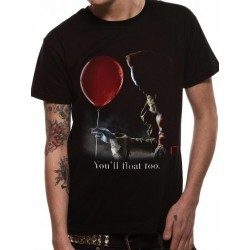 IT - T-Shirt - Pennywise Red Baloon (XXL) 166146  T-Shirts IT - Pennywise