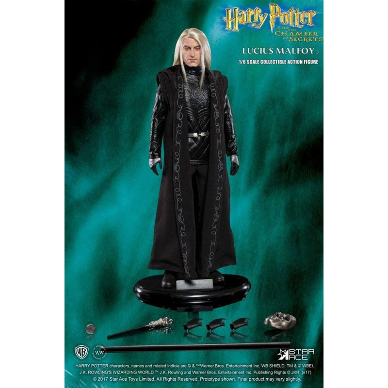 HARRY POTTER - Movie Figures 1/6 - Lucius Malfoy Chamber of... - 30cm 166141  Harry Potter