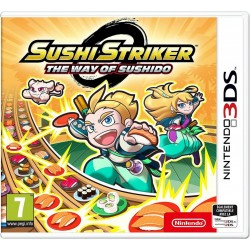 3DS  Sushi Striker Sushido  166108  Nintendo 3DS