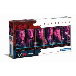 STRANGER THINGS - Panorama Characters - Puzzle 1000P 185615  Puzzels