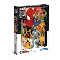 MARVEL - 80th Annviersary Characters - Puzzle 1000P 185619  Puzzels