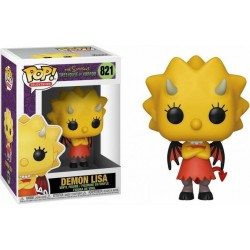 THE SIMPSONS - Bobble Head POP N° 821 - Demon Lisa