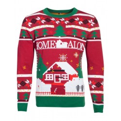 HOME ALONE - Knitted Merry Christmas Sweater (XL) 178100  Sweatshirts