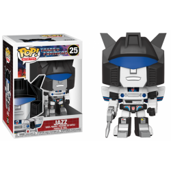 TRANSFORMERS - Bobble Head POP N° 25 - Jazz 191161  Funko Pops