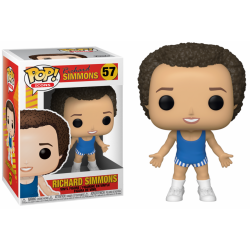 RICHARD SIMMONS - Bobble Head POP N° 57 - Richard Simmons 191166  Funko Pops