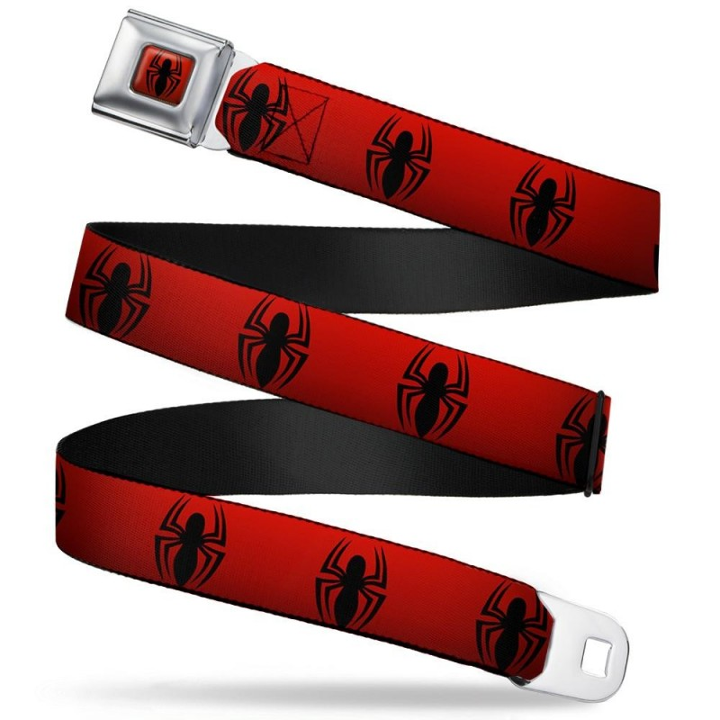 SPIDERMAN - Belt (Kids)- 31/66 - 2,5 Cm - Red/Logo 166031  Riemen
