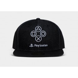 PLAYSTATION - Denim Symbols - Cap 191226  Petten