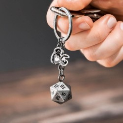 DUNGEONS & DRAGONS - D20 - Keychain