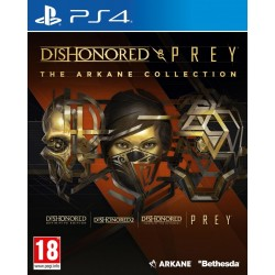 Dishonored and Prey : The Arkane Collection - Playstation 4 191524  Playstation 4