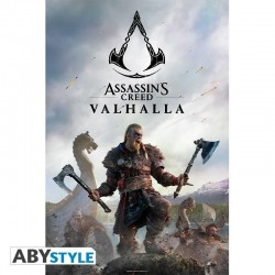 ASSASSIN'S CRRED VALHALLA - Raid - Poster '91x61' 191786  Posters