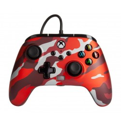 POWER A - Wired Controller Enhanced - Camo Red Xbox Series X