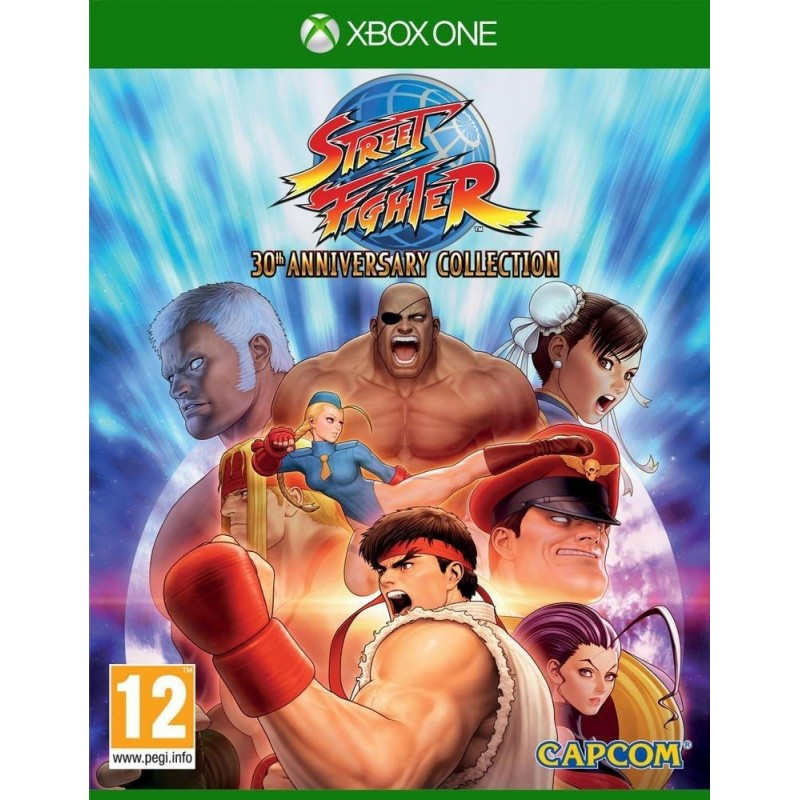 Street Fighter 30th Anniversary Collection - Xbox One  165924  Xbox One