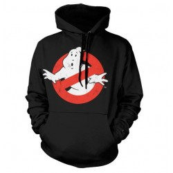 GHOSTBUSTERS - Distressed Logo Hoodie (L) 171713  Hoodies