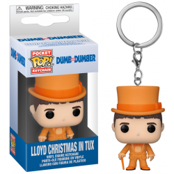 DUMB & DUMBER - Pocket Pop Keychain - Lloyd Christmas in Tux 191592  Figurines