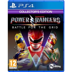 Power Rangers Battle for the Grid Collectors Edition - Playstation 4
