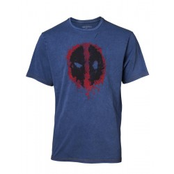 DEADPOOL - T-Shirt Premium - Faux Denim - Logo (L) 165904  T-Shirts