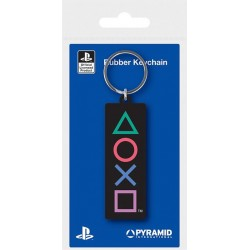 PLAYSTATION - Shapes - Rubber Keychain