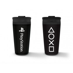 PLAYSTATION - Onyx - Metal Koffiebeker to go 450ml