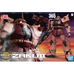GUNDAM - MSM 1/48 Mega Size Model Zaku II - Model Kit