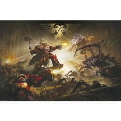 WARHAMMER 40K - The Battle of Baal - Poster '91x61' 192376  Posters