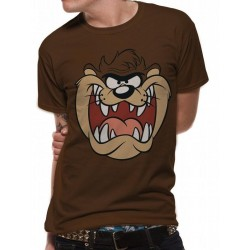 LOONEY TUNES - T-Shirt IN A TUBE- Taz Face (M) 165854  T-Shirts Looney Tunes