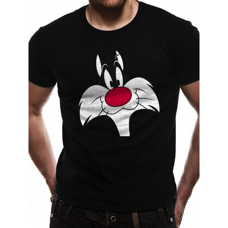 LOONEY TUNES - T-Shirt IN A TUBE- Sylvester Face (L) 165848  T-Shirts
