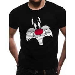 LOONEY TUNES - T-Shirt IN A TUBE- Sylvester Face (M) 165847  T-Shirts