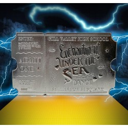 BACK TO THE FUTURE - Dance Ticket - Silver Plated Collector Ticket 192690  Allerlei