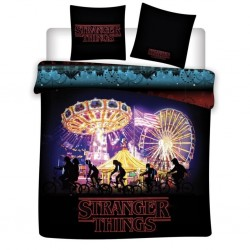 STRANGER THINGS - Duvet Cover 140x200cm - Night '100% Coton' 192860  Dekbedden