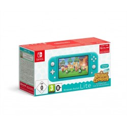 Console SWITCH LITE - Bundle Animal Crossing -Turquoise 192983  Switch Lite