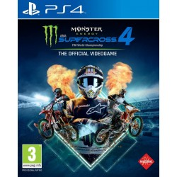 Monster Energy Supercross 4 - Playstation 4 193041  Playstation 4