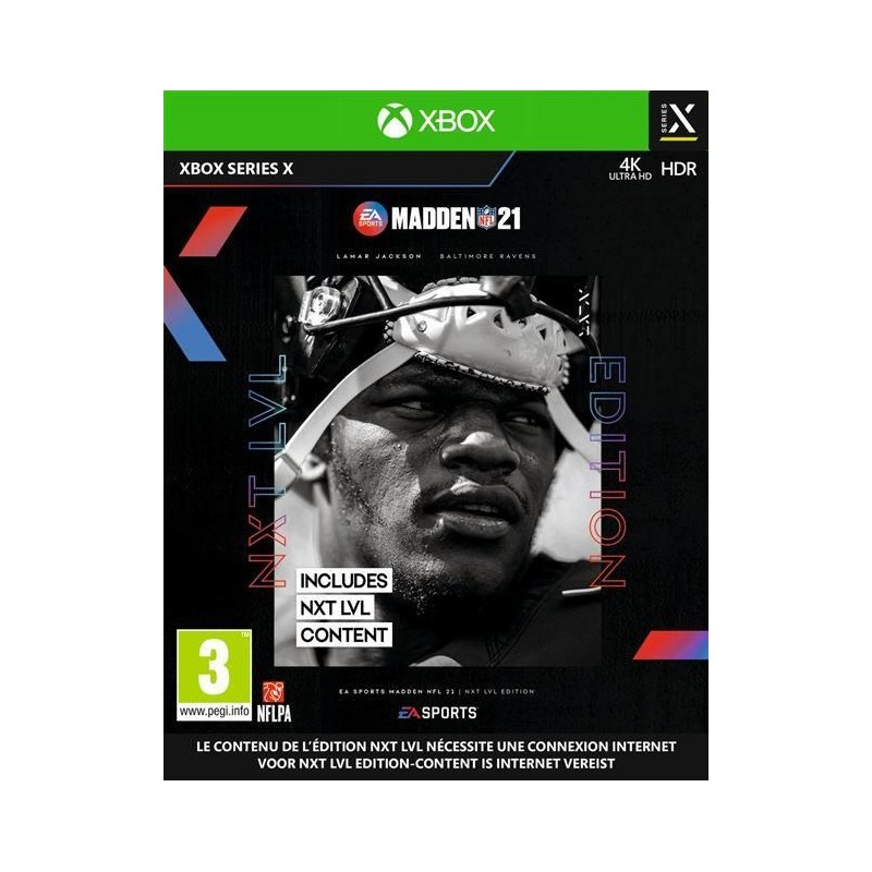 Madden NFL 21 (UK Only) - Xbox Series 193089  Xbox Series X