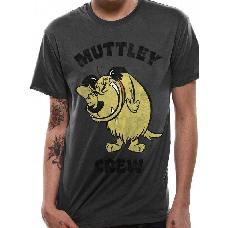WACKY RACES - T-Shirt IN A TUBE- Muttley Crew (S) 165750  T-Shirts