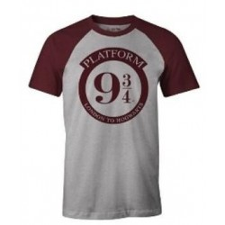 HARRY POTTER - Platform 9 3/4 - Men T-shirt (L) 193134  T-Shirts