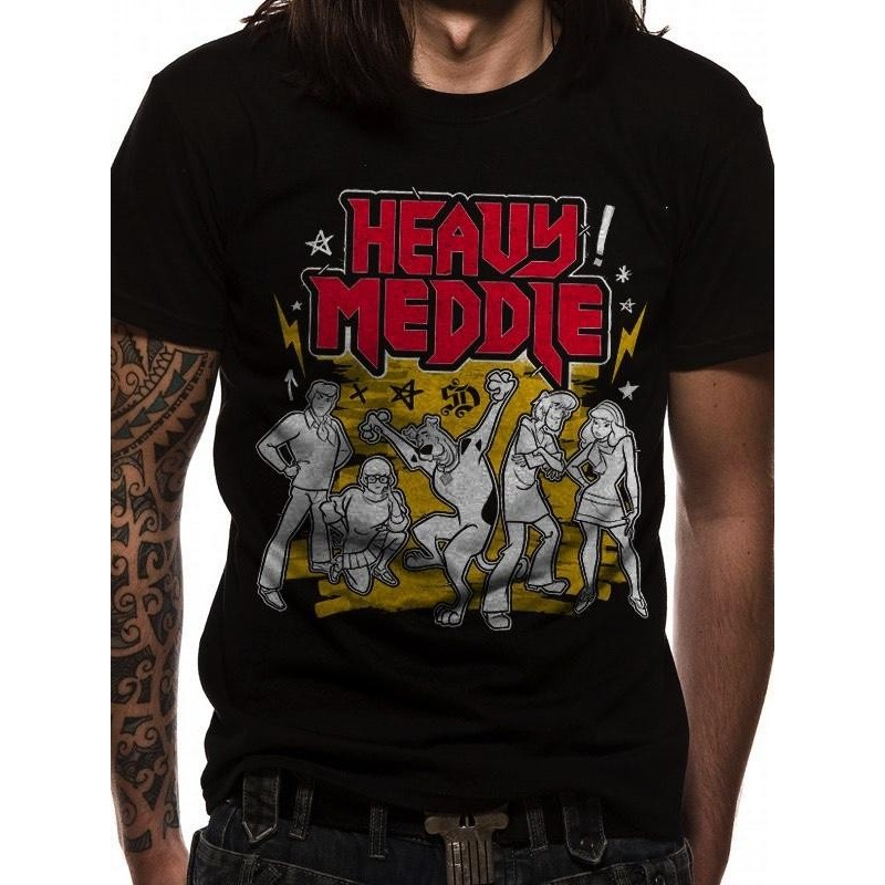 SCOOBY DOO - T-Shirt IN A TUBE- Heavy Meddle (S) 165735  T-Shirts