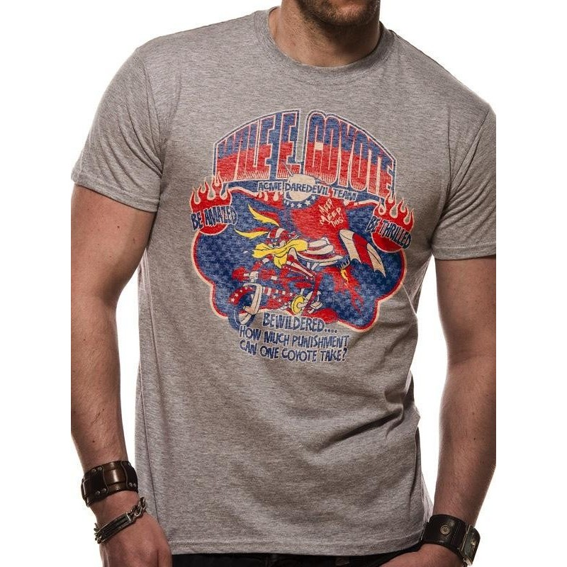 LOONEY TUNES - T-Shirt IN A TUBE- Wile E Coyote (XL) 165733  T-Shirts