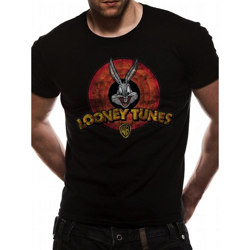 LOONEY TUNES - T-Shirt IN A TUBE- Destroy Logo (L) 165712  T-Shirts
