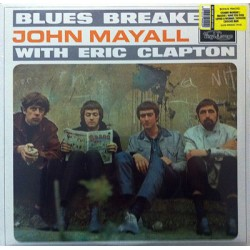 John Mayall & The Bluesbreakers - With Eric Clapton (LP) 3454  LP's