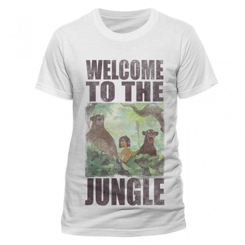 JUNGLE BOOK - T-Shirt IN A TUBE- Welcome to the Jungle (L) 165684  T-Shirts