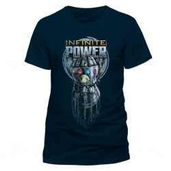 AVENGERS INFINITY WAR - T-Shirt IN A TUBE- Infinite Power (XXL) 165655  T-Shirts Avengers