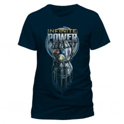 AVENGERS INFINITY WAR - T-Shirt IN A TUBE- Infinite Power (S) 165651  T-Shirts Avengers