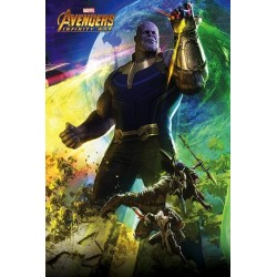 AVENGERS INFINITY WAR - Poster 61X91 - Diorama 2/3 - Thanos 165609 Posters