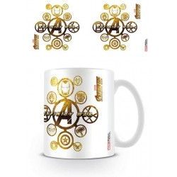 AVENGERS INFINITY WAR - Mug - 315 ml - Connecting Icons 165599  Drinkbekers - Mugs