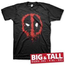 MARVEL - T-Shirt Big & Tall - Deadpool Splash (3XL) 186109  T-Shirts