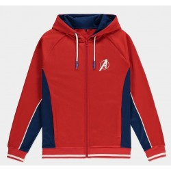 MARVEL - Avengers - Mens Hooded Track Shirt (XL)