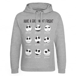 NBX - Have a Good Night Fright - Sweat Hoodie - (M) 190425  Hoodies