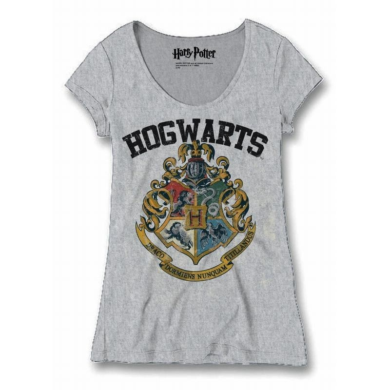 HARRY POTTER - T-Shirt Hogwarts Old School - GIRL (S)