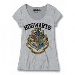 HARRY POTTER - T-Shirt Hogwarts Old School - GIRL (M)