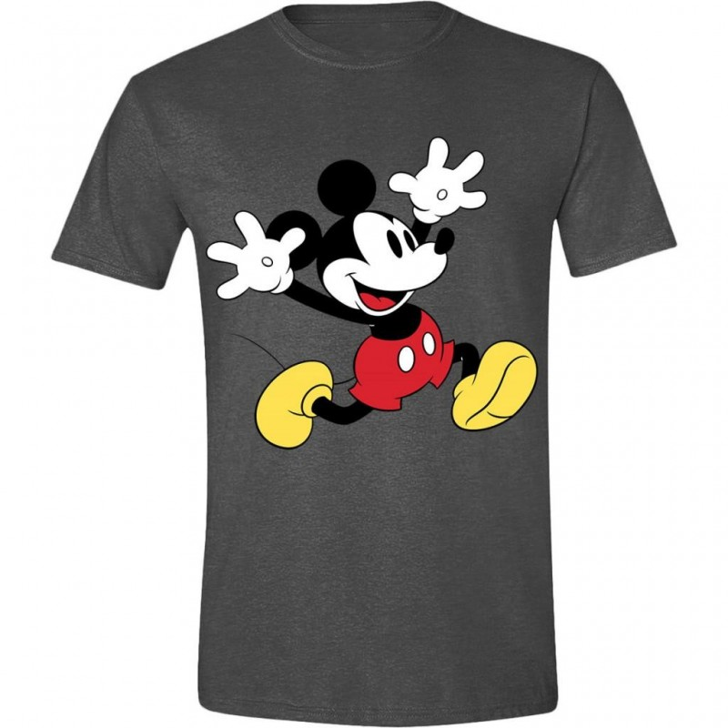 DISNEY - T-Shirt - Mickey Mouse Exciting Face (M)