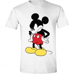 DISNEY - T-Shirt - Mickey Mouse Mad Face (L)